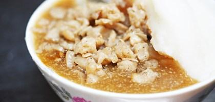 彰化|黑頭碗粿、米糕.華陽市場40年老店