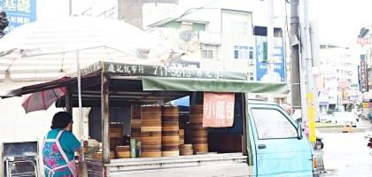 彰化|無名小籠包.華陽市場對面熱賣20年的平價攤車