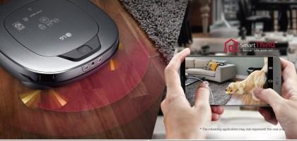 LG  WIFI 變頻遠端搖控掃地機器人.吸塵拖地居家保全一機完成