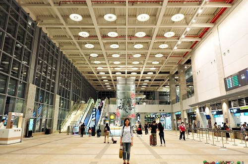 高鐵苗栗站|台灣首座綠建築車站.去苗栗旅遊更近了!