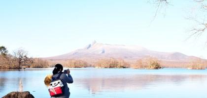 北海道大沼國定公園散策.凝望湖面我找到了心靈上寧靜