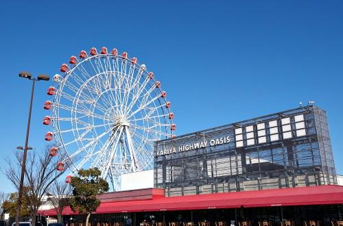 愛知、刈谷|日本自駕不能錯過的五星級遊樂園休息站.KARIYA HIGHWAY OASIS
