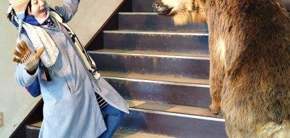 北海道|登別熊牧場.熊出沒注意