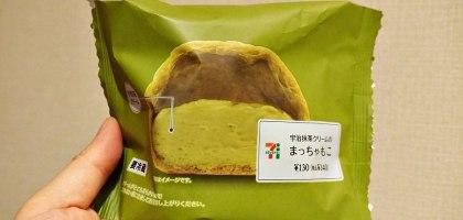 抹茶控必買!日本7-11抹茶泡芙.餡多好吃超抹茶