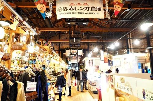 北海道、函館 金森紅磚倉庫.日式雜貨區逛不完的人氣景點