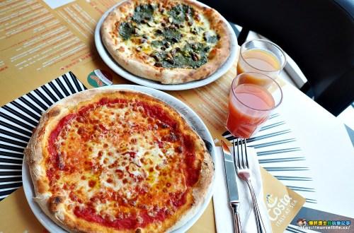 歌詩達郵輪新浪漫號|那不勒斯匹薩Napolina Pizza.柴火窯烤披薩好吃又正點