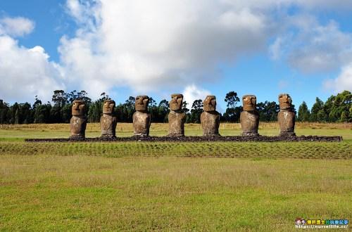 復活節島|Tahai、Ahu Akivi、Puna Pau.探訪巨石像摩艾之旅