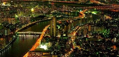 東京|Tokyo Sky Tree 晴空塔展望台.從450公尺俯望浪漫的高空夜景