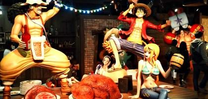 東京|東京鐵塔航海王主題樂園.我要成為海賊王!