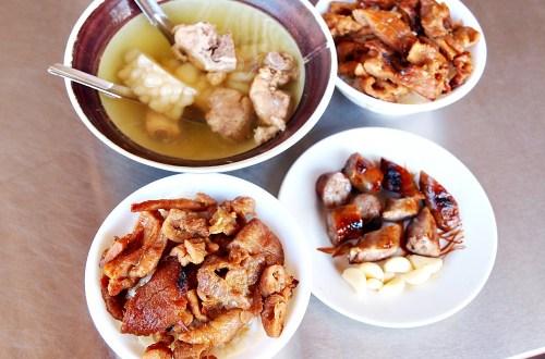 台南、中西區|原大菜市百年老店燒肉飯.平價大份量的飽食口感