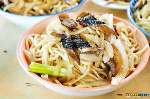台南、新營|清香鱔魚麵.第一市場的米糠香
