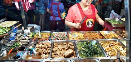 蘆洲夜市|忠義廟口清粥小菜.20年來都未漲價的銅板美食