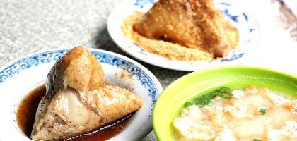 台南、北區 老店肉粽菜粽.凌晨開賣的人氣店