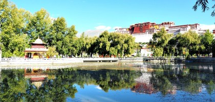 中國、西藏 布達拉宮.不因達賴只為千年不朽