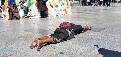中國、西藏|大昭寺.轉山轉水轉佛塔晉見世界的中心