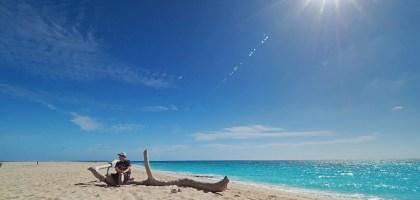 沖繩、久米島|はての浜 終端之濱.可以看到海龜的秘境白砂灘