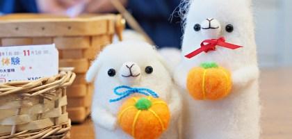 北海道|えこりん村(みどりの牧場、花の牧場).羊駝超療癒