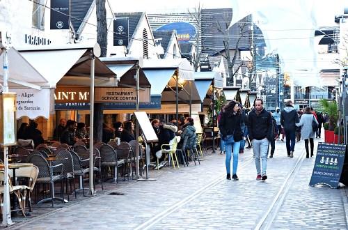 Bercy Village.巴黎十二區舊酒莊改造的貝爾西村