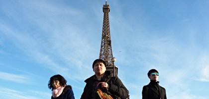 Eiffel Tower.巴黎艾菲爾鐵塔的萬種風情