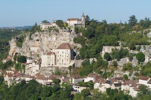 法國、洛特省|羅卡馬杜爾 Rocamadour.中世紀的天空之城