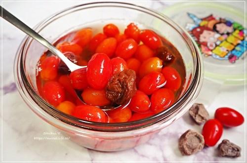炎炎夏日超開胃冰釀梅子番茄.賢(嫌)妻廚房教你輕鬆做到厭世