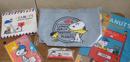 日本郵局史努比(Snoopy)限定商品