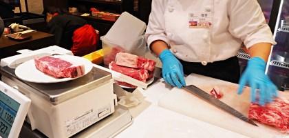 現切現烤!牛排要吃多大就切多少 – Ikinari Steak