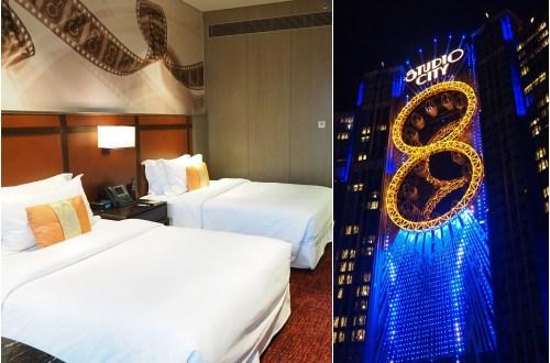 澳門新濠影滙 Studio City  Macau.來一趟躺飯店吃美食兼購物的廢柴之旅