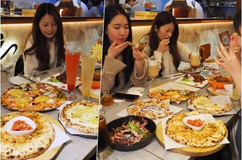 芝山捷運美食|Pizzeria OGGI 歐奇窯烤披薩.天母店全新裝潢餐點豐富多人聚餐更划算