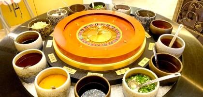 澳們打邊爐|賭場風格超奢華的台中粵式火鍋