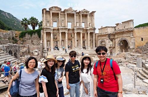 土耳其|艾菲索斯/以弗所遺址Ephesus.世界十大古蹟的文化遺產之旅