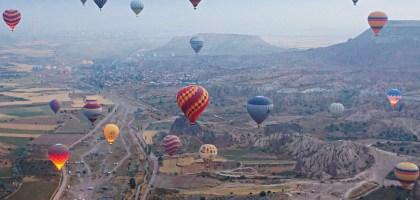 如果說土耳其有必玩行程,那絕對就是熱氣球!