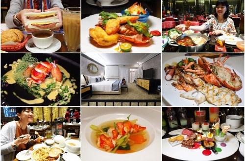 澳門威尼斯人渡假去.這是一種天天吃美食都不用走出飯店的節奏