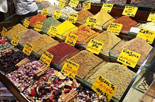 土耳其|伊斯坦堡香料市場.番紅花便宜到會嚇人