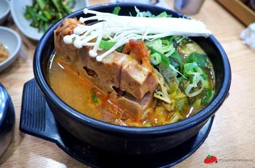 釜山|密陽血腸湯.早起沒事做就來吃個豬骨醒酒湯吧!