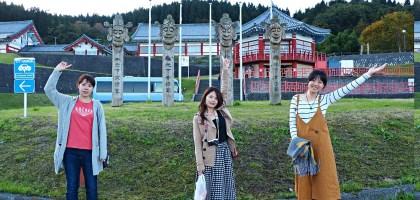 山形|道路休息站高麗館.最上川旁的韓國物產館