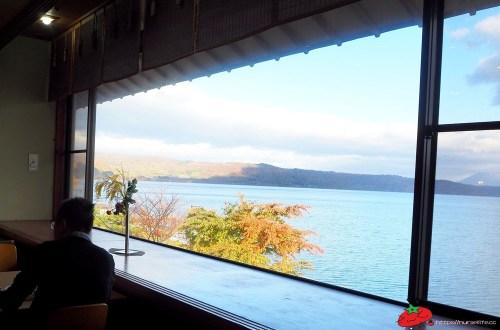北海道|洞爺湖畔亭飯店.在湖景第一排泡湯用餐
