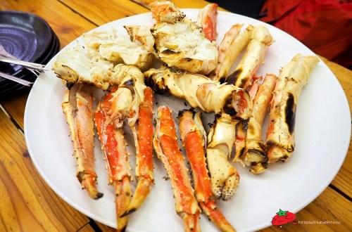 北海道|在札幌吃螃蟹就要到中央市場.現撈現烤超划算
