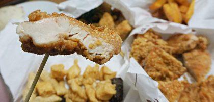 北投復興崗無骨鹹酥雞特大雞排.平價大份量很早關門的鹹酥雞