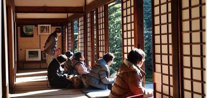 【京都】芬陀院雪舟寺ふんだいんていえん 品一口茶 靜賞庭院之美