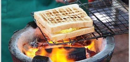 【台南中西】武廟炭烤三明治  煎蛋膨鬆好正點