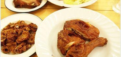 【清邁炸雞】靠近松達寺的黑雞頭連鎖炸雞店(午夜炸雞)