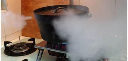 荷蘭鍋戶外料理的好幫手@Snow Peak GS-400單口瓦斯爐