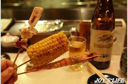 【台北 中山】好吃的串燒配啤酒,秋吉串燒。