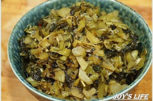 帶便當不可缺的配菜-下飯鹹酸菜,輕鬆做!