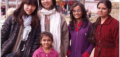 【印度】在知名渡假區也要逛街,Pahalgam 市集~