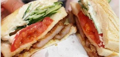【基隆美食】廟口必吃!! 配料豐富的碳烤三明治
