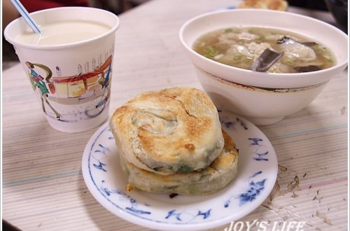 【基隆】周家豆漿店,必吃蔥油餅!!