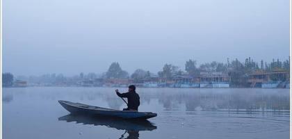 【印度】Dal lake船屋風情