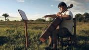 Renaissance und Barock in Urubichá: Juan Carlos Aguape probt für das Festival. (Bild: David Mercado / Reuters)